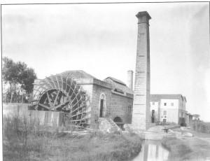 albufera roda hidraulica vapor 1902