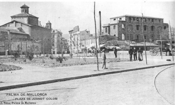 plaça espanya i can esteva 1904